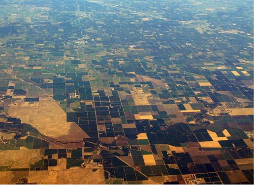 San Joaquin Valley Aerial View